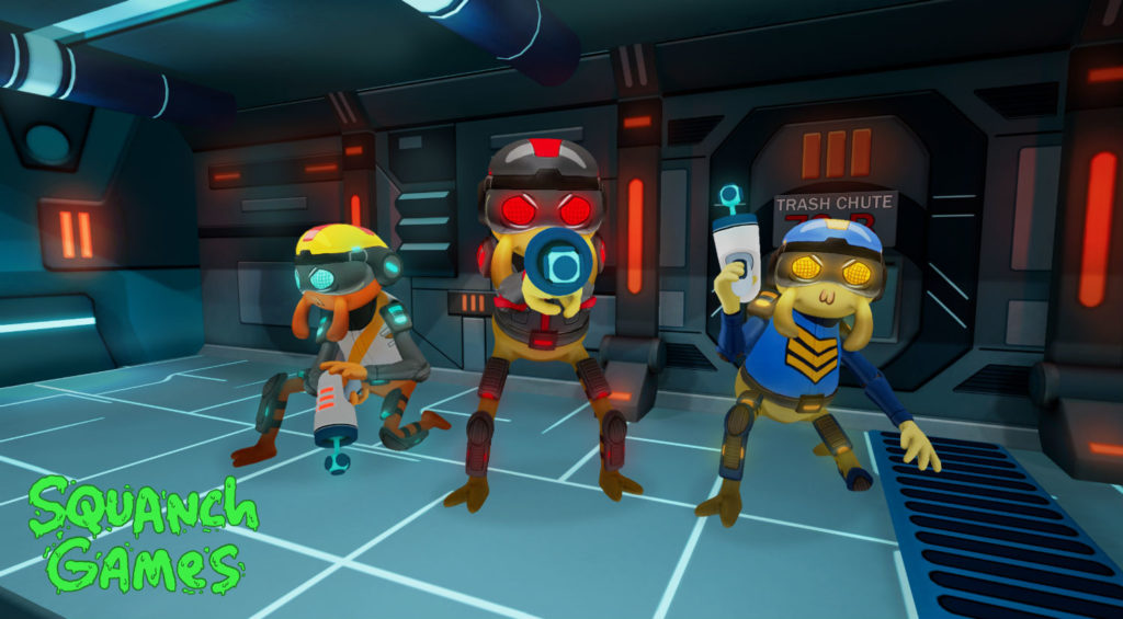 Dr. Splorchy Presents: Space Heroes screenshot