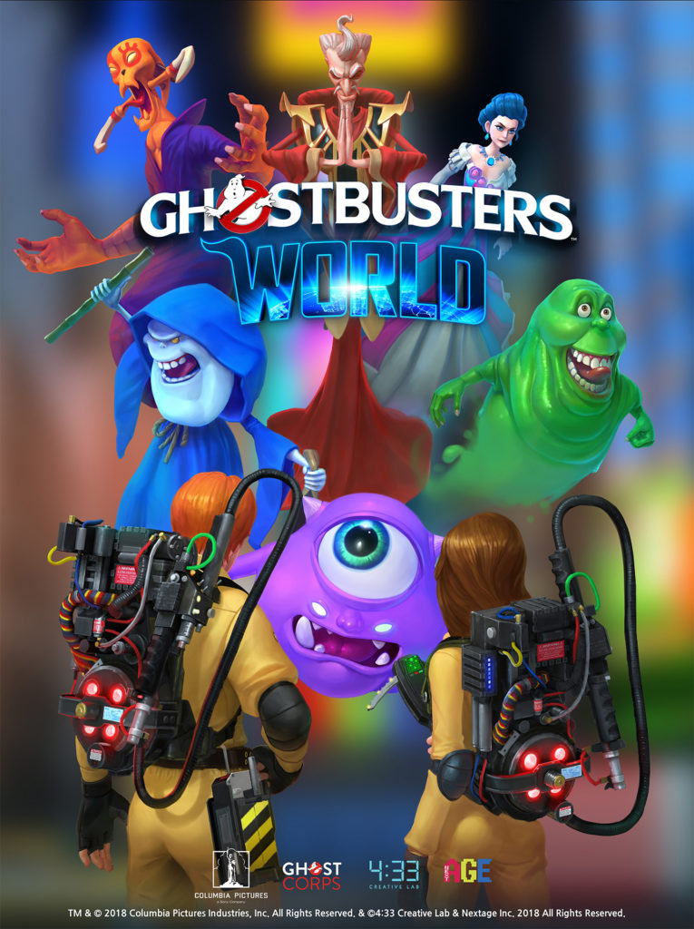 Ghostbusters World - promo plakát