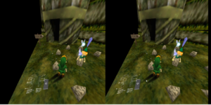 Legend of Zelda: Ocarina of Time běžící ve VR díky Emukit