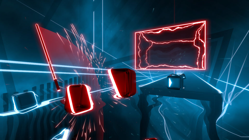 Beat Saber pro Playstation VR