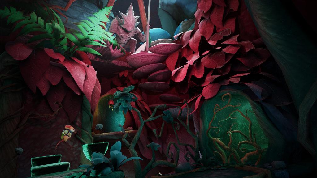 """Nový level """"Twilight Garden"""" pro VR hru Moss"""