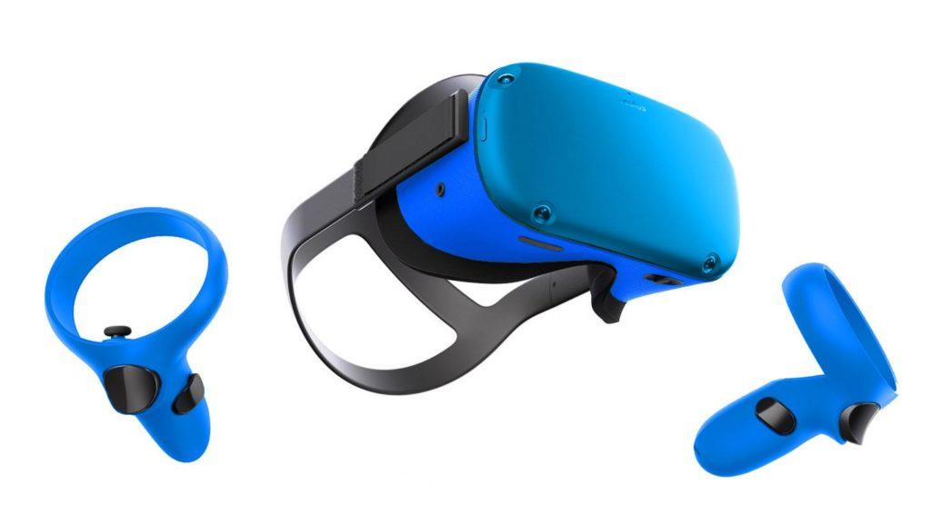 Modrý skin pro Oculus Quest