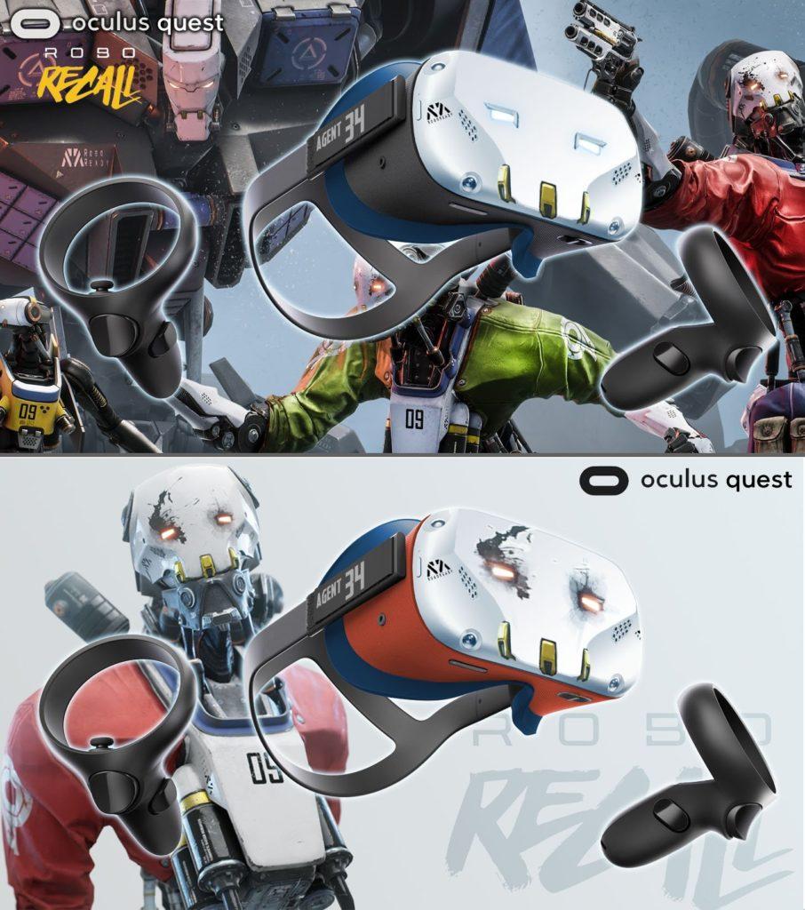 Oculus Quest skin na motivy Robo Recall