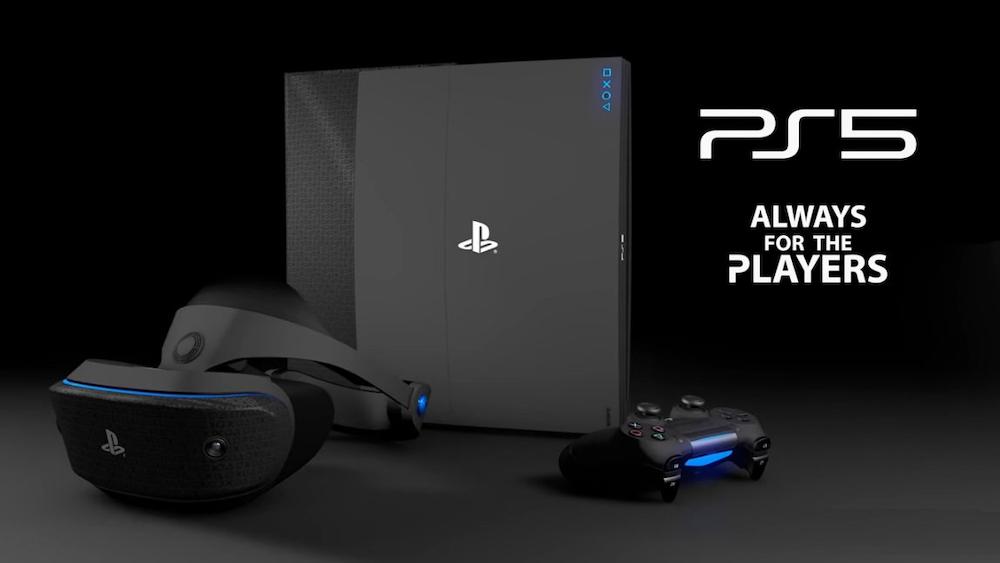 Fanouškovský koncept PS5 a Playstation VR 2