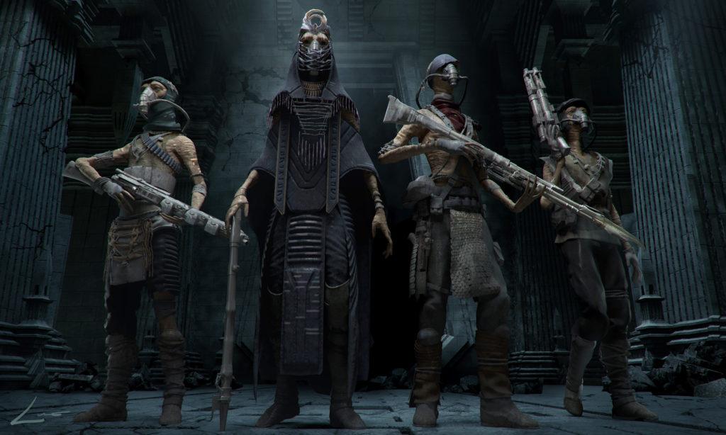 Mustafariánští kněží z Vader Immortal: A Star Wars VR series