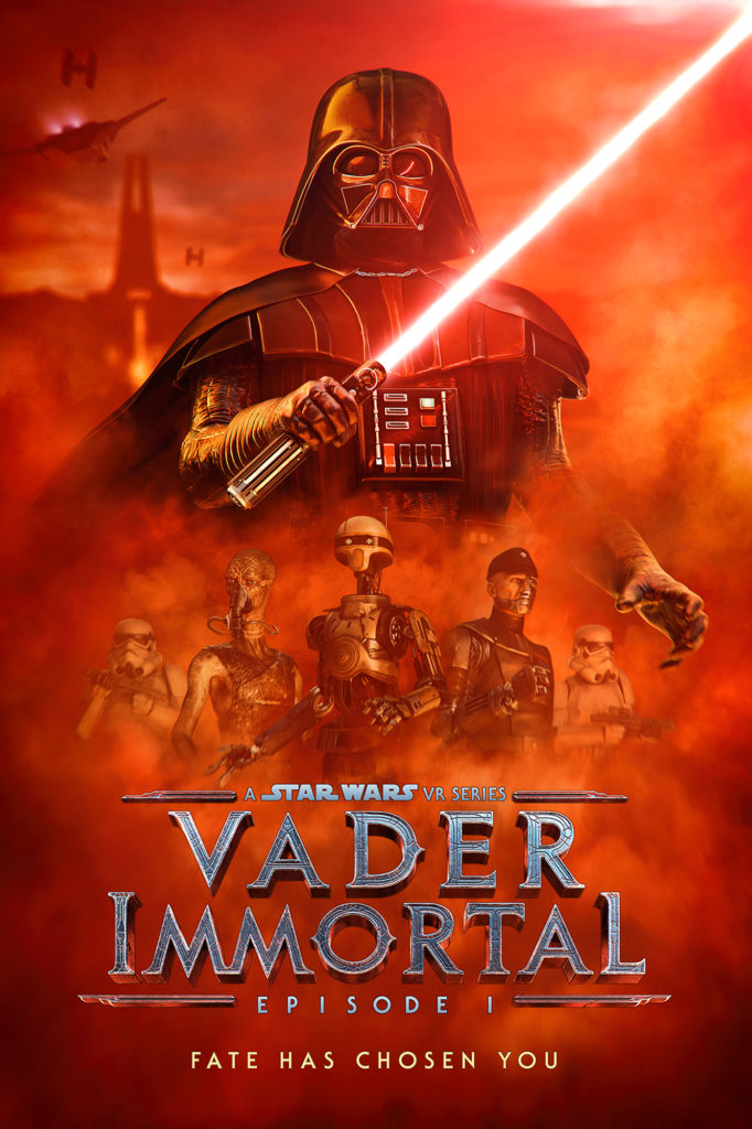 Vader Immortal: A Star Wars VR series promo