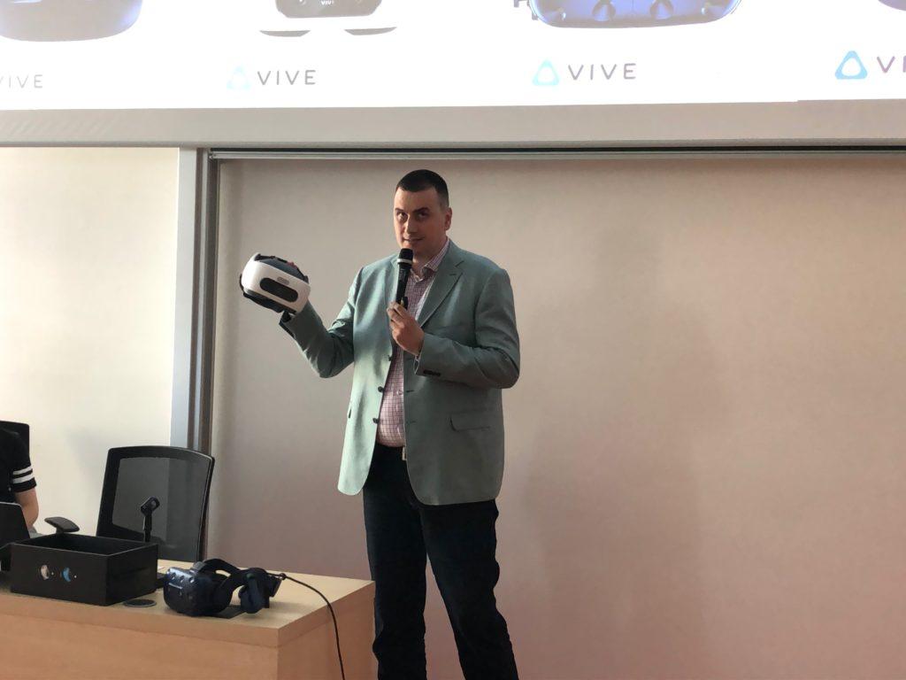 Marko Savkovič o VR brýlích od HTC