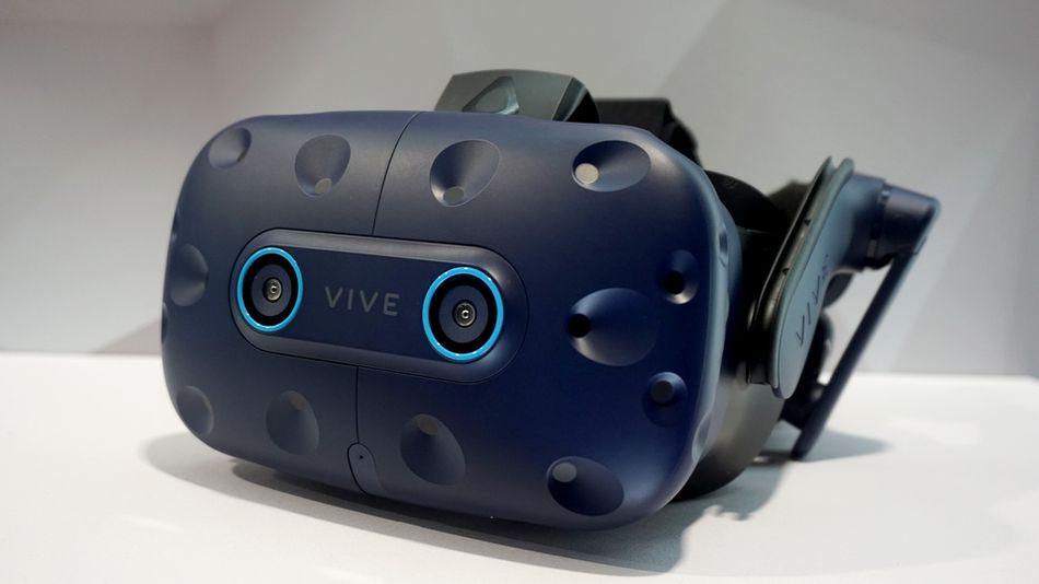VR brýle Vive Pro Eye v celé své kráse