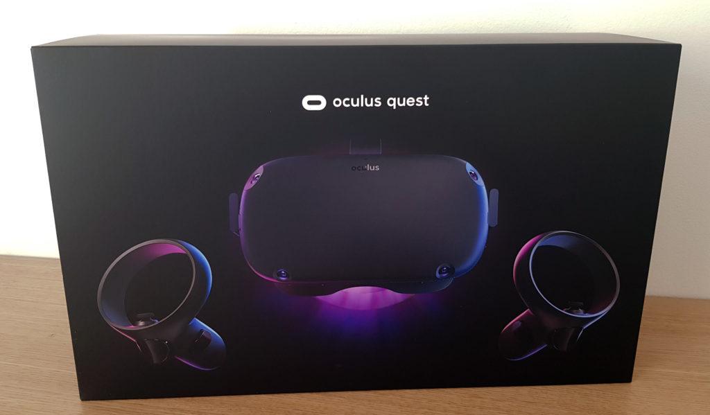 Balení Oculus Quest