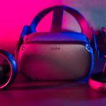 Oculus Quest s ovladači Oculus Touch