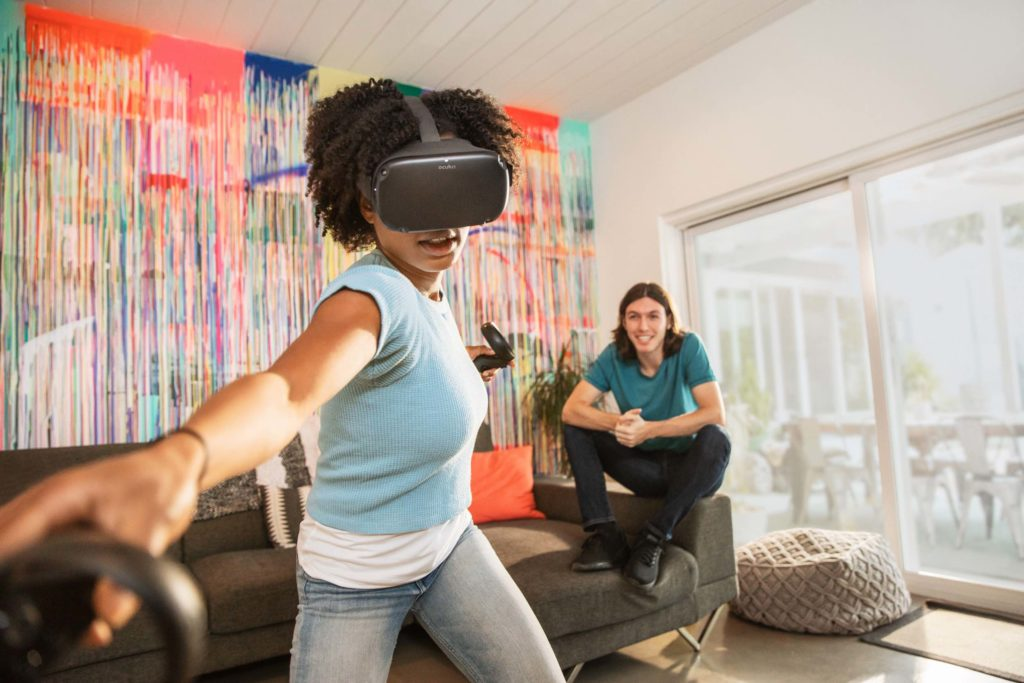 S Oculus Quest si užijete volný pohyb bez kabelů