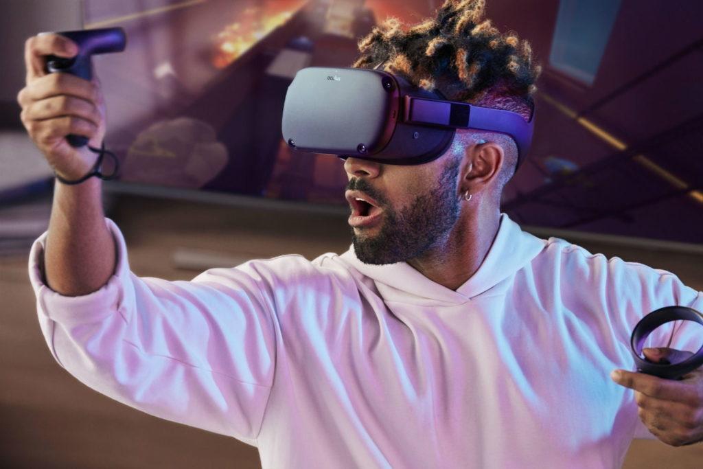 VR brýle Oculus Quest v akci