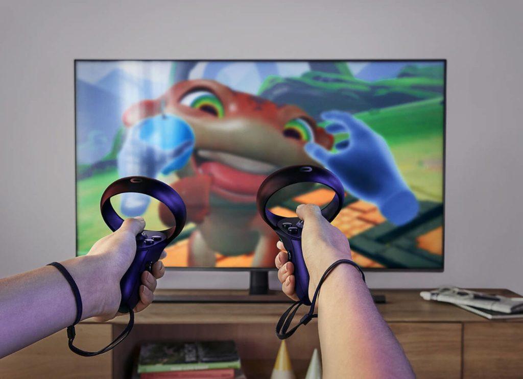 Oculus Touch ovladače pro Oculus Quest